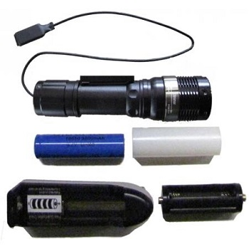 torcia con zoom magnetica